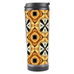 Faux Animal Print Pattern Travel Tumblers