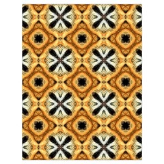 Faux Animal Print Pattern Drawstring Bag (large)