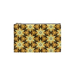 Faux Animal Print Pattern Cosmetic Bag (Small)