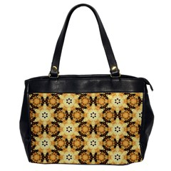 Faux Animal Print Pattern Office Handbags