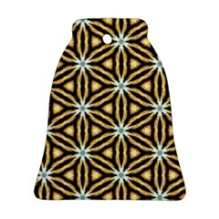 Faux Animal Print Pattern Ornament (Bell)