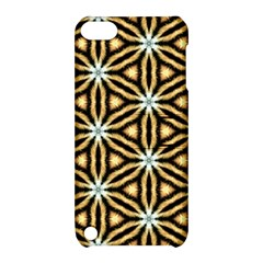 Faux Animal Print Pattern Apple iPod Touch 5 Hardshell Case with Stand