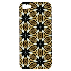 Faux Animal Print Pattern Apple iPhone 5 Hardshell Case