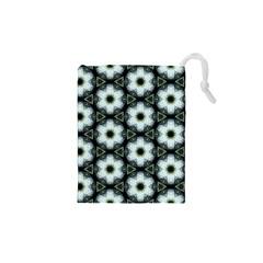 Faux Animal Print Pattern Drawstring Pouches (XS)