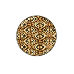 Faux Animal Print Pattern Hat Clip Ball Marker (10 pack)