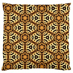 Faux Animal Print Pattern Large Flano Cushion Cases (Two Sides)