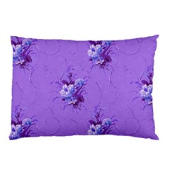 Purple Roses Pattern Pillow Cases (two Sides)