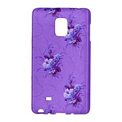 Purple Roses Pattern Galaxy Note Edge