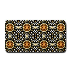 Faux Animal Print Pattern Medium Bar Mats