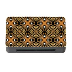 Faux Animal Print Pattern Memory Card Reader With Cf