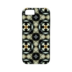 Faux Animal Print Pattern Apple iPhone 5 Classic Hardshell Case (PC+Silicone)