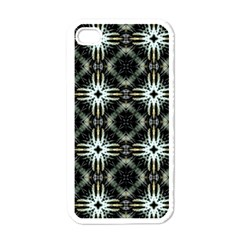 Faux Animal Print Pattern Apple iPhone 4 Case (White)