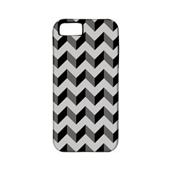 Modern Retro Chevron Patchwork Pattern  Apple iPhone 5 Classic Hardshell Case (PC+Silicone)