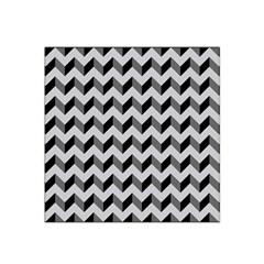 Modern Retro Chevron Patchwork Pattern  Satin Bandana Scarf