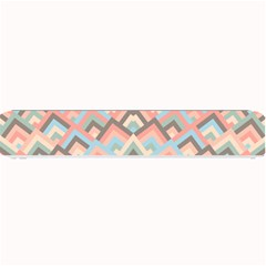 Trendy Chic Modern Chevron Pattern Small Bar Mats