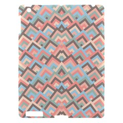 Trendy Chic Modern Chevron Pattern Apple iPad 3/4 Hardshell Case