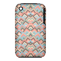 Trendy Chic Modern Chevron Pattern Apple iPhone 3G/3GS Hardshell Case (PC+Silicone)