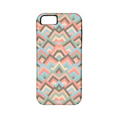 Trendy Chic Modern Chevron Pattern Apple iPhone 5 Classic Hardshell Case (PC+Silicone)