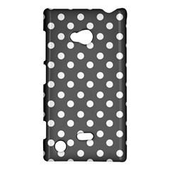 Gray Polka Dots Nokia Lumia 720