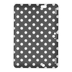 Gray Polka Dots Kindle Fire HDX 8.9  Hardshell Case