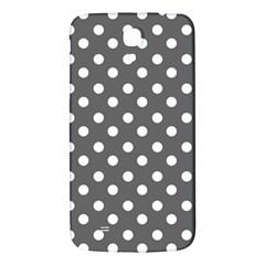 Gray Polka Dots Samsung Galaxy Mega I9200 Hardshell Back Case