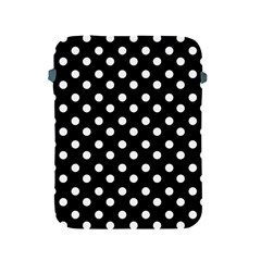 Black And White Polka Dots Apple iPad 2/3/4 Protective Soft Cases