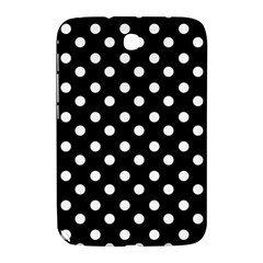 Black And White Polka Dots Samsung Galaxy Note 8.0 N5100 Hardshell Case