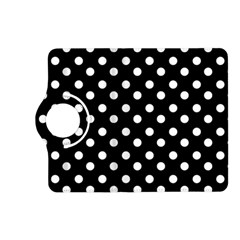 Black And White Polka Dots Kindle Fire HD (2013) Flip 360 Case