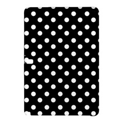 Black And White Polka Dots Samsung Galaxy Tab Pro 12 2 Hardshell Case