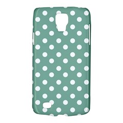 Mint Green Polka Dots Galaxy S4 Active