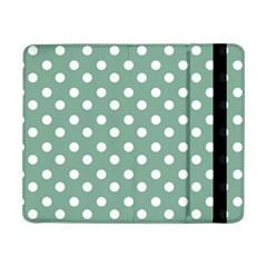 Mint Green Polka Dots Samsung Galaxy Tab Pro 8.4  Flip Case