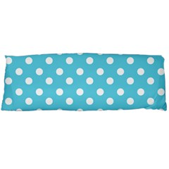 Sky Blue Polka Dots Body Pillow Cases Dakimakura (two Sides)