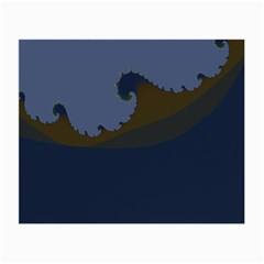 Ocean Waves Small Glasses Cloth (2-Side)