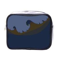 Ocean Waves Mini Toiletries Bags