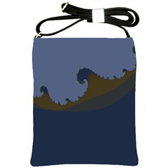 Ocean Waves Shoulder Sling Bags
