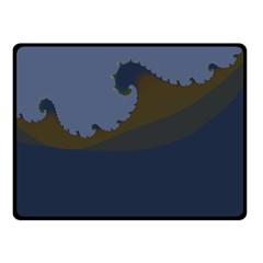 Ocean Waves Fleece Blanket (small)
