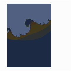 Ocean Waves Small Garden Flag (Two Sides)