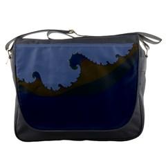 Ocean Waves Messenger Bags
