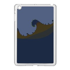 Ocean Waves Apple Ipad Mini Case (white)