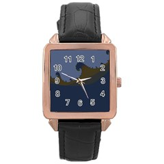 Ocean Waves Rose Gold Watches
