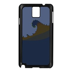 Ocean Waves Samsung Galaxy Note 3 N9005 Case (black)