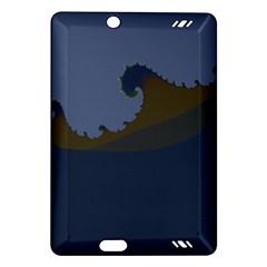 Ocean Waves Kindle Fire HD (2013) Hardshell Case