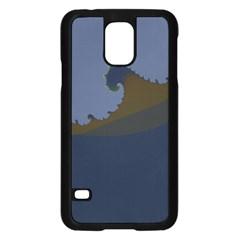 Ocean Waves Samsung Galaxy S5 Case (black)
