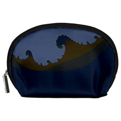 Ocean Waves Accessory Pouches (Large)
