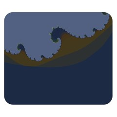 Ocean Waves Double Sided Flano Blanket (small)