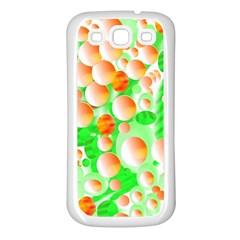 Bubbles Samsung Galaxy S3 Back Case (White)