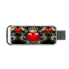 King of Hearts Portable USB Flash (Two Sides)