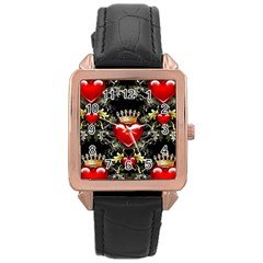 King of Hearts Rose Gold Watches