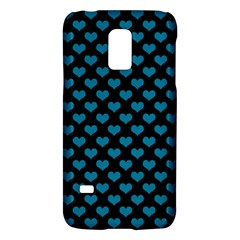 Blue Hearts Valentine s Day Pattern Galaxy S5 Mini