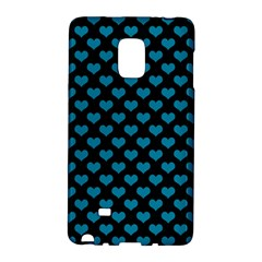 Blue Hearts Valentine s Day Pattern Galaxy Note Edge